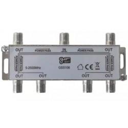 Anténní rozbočovač GoSat GSS106 6 výstupů