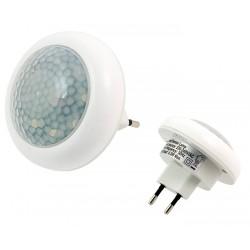 HARMONY noční LED světlo s detektorem pohybu, senzorem soumraku, 230V, 0,5 W