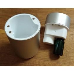 Elektronický rozprašovač (nebulizér) éterických olejů NB01 STŘÍBRNÝ
