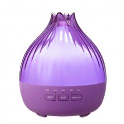 Hütermann S01 aroma difuzér fialová 350 ml - ultrazvukový, 7 LED barev, dálkové ovládání