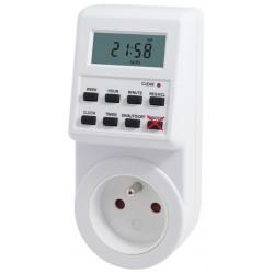 Hutermann - Elektronické spínací hodiny / časovač / zásuvka - týdenní, odporová