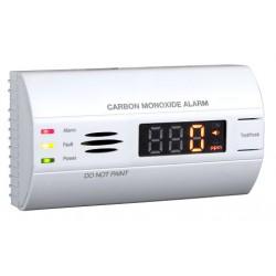 Hütermann Detektor oxidu uhelnatého s alarmem, paměťí a LCD, CO-90 EN50291, životnost 10 let
