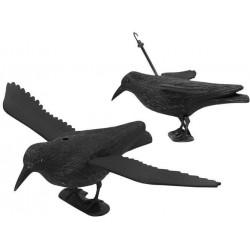 Odpuzovač holubů a ptáků havran v letu 38 cm
