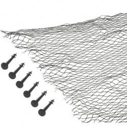 Krycí síť proti listí 4 x 6 m pro zahradní jezírka