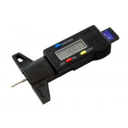 Digitální měřič hloubky dezénu pneumatik 0-25mm
