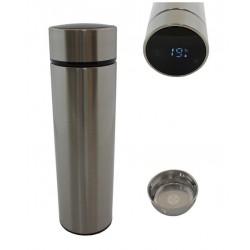 Termohrnek SMART LCD 500 ml stříbrný HARMONY