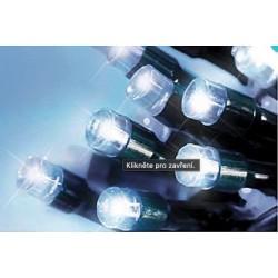 LED osvětlení venkovní - klasická, st. bílá 10 m, časovač, ovladač