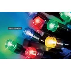 LED osvětlení venkovní - klasická, multicolor 10 m, časovač, ovladač