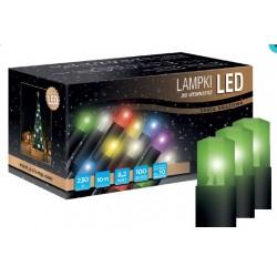 LED osvětlení vnitřní - klasická, zelená, 6 m