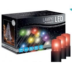 LED osvětlení univerzální - klasická, červená, 10 m