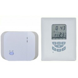 Hütermann Bezdrátový programovatelný pokojový prostorový termostat Euro Thermo T105RF