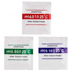 Kalibrační roztok pH4.00+pH6,86+pH9,18, celkem 3ks