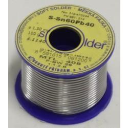 Cín SN 60 PB 40 - drát 1,5 mm - 100 g