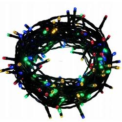 LED osvětlení vnitřní - klasická, multicolor, 8 m